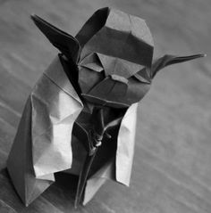 Origami Yoda,very cool but, I wish they had done it in green