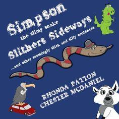 Simpson, the slimy snake, Slithers Sideways.