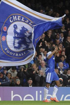 Drogba, Chelsea FC...seen him play and have his jersey!! #11