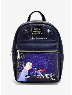 Disney Loungefly Pinocchio Wish Upon A Star Mini Backpack Bag Disney Pixar Up, Disney Winnie The Pooh, Walt Disney, Disney Bound, Pinocchio, Geeks, Disney Purse, Disney Handbags, Big Hero 6 Baymax