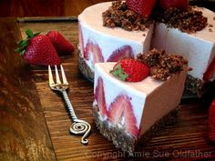 LIVER CIRRHOSIS DIET MENU GUIDE - Strawberry Rhubarb Cream Cake (high raw, vegan). Reverse & treat liver cirrhosis by following a liver cleansing raw food diet & completing a series of liver flushes. Learn how to do the advanced LIVER FLUSH recipe protocol & cure cirrhosis of the liver https://www.youtube.com/watch?v=EC9ewx7LsGw I LIVER YOU