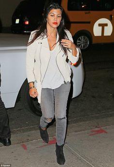 Kourtney Kardashian New York City May 31 2014