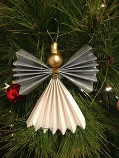 Our version of homemade angel Christmas ornaments!!!!!