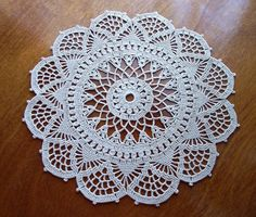Doily Table Linen Venetian Crochet Dining by ArtisticNeedleWork