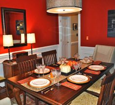Thanksgiving Tablescape Reveal by Finding Fabulous
