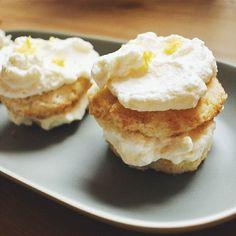 Making some lemon cakes in preparation for tonight's #GoT Premiere! Little angel food cakes with lemon whipped cream  #carolcooks #sansa #gameofthornes #lemoncake #dessert #weekend #nyc #brooklyn #bedstuy #homecooking #eater #cookit #huffposttaste #feedfeed #letthemeatcake by caroljlee