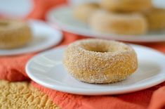 The Chic Life: Healthier Baked Pumpkin Donuts