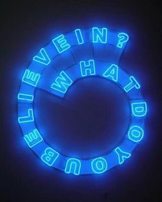 blue, neon, and light image Disco Licht, Neon Licht, Tumblr Sticker, The Blue Boy, Le Grand Bleu, The Wicked The Divine, Sayaka Miki, Neon Aesthetic, Blue Aesthetic Dark