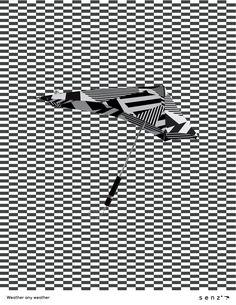 HOW International Design Awards Merit Winner in the Students-Only Category: Senz umbrellas Creative Team: Kristen Sugihara, Elisa Haynes, Marty Allen, Gina Greco School: San Diego Portfolio Studio Location: San Diego, CA #students #studentwork #design #graphicdesign