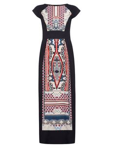 Folk inspired elgant long dress by Dorothy Perkins