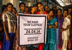 Fashion Revolution Day 24 april 2014 is een dag zijn in het teken van de Rana Plaza ramp in Bangladesh van 24 april 2013.  De slechte arbeidsomstandigheden in de textielindustrie moeten veranderen. Wij van Lotika laten zien dat het ook anders kan.