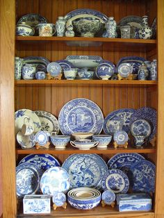 Michael's Blue and White Collection by ANDstudio, via Flickr