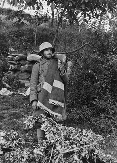 Bilbao front (Basque region), Spain. Loyalist soldier during the battle of Mount Solluve. By Robert Capa, (May 1937)