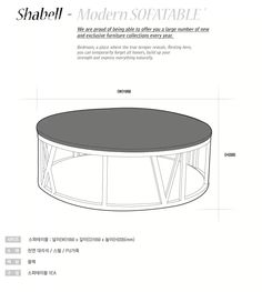 Shabell coffee table.