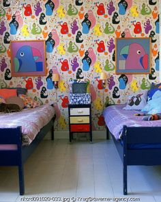 the boo and the boy: OTT kids' rooms