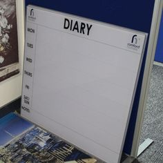 An Office Diary Board