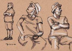 George Mellen - fountain pen and pencil
