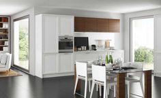 Cucina grigia e bianca: luminosità ed eleganza in parti uguali ...