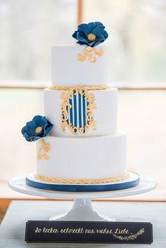 Die Schöne und das Biest - Märchenhafte Feier in Gold von Hellbunt Events   Hochzeitsblog - The Little Wedding Corner