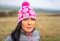 Get yourself a pom pom hat to complete your winter look ❄️❄️⛄ #islandgreen #golfapparel #beanie #golf