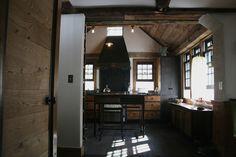 Industrial modern Kitchen by Erik Block Design Build