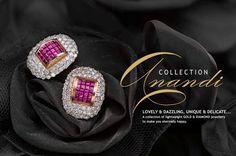 Anandi 4 Diamond Jewellery, Gold Jewelry, Diamond Earrings, To My Daughter, Daughters, Manubhai Jewellers, Pakistani, Art Pieces, Delicate