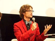 #MatthewGrayGubler in Japan (June 2016) to promote #CriminalMinds #DrSpencerReid