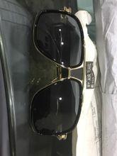 77b8c6a305 Hombres de gran tamaño gafas de sol de marca de diseñador de las mujeres  superior plano gafas de sol cuadrado 18 K oro hombre espejo de alta calidad  Cinco ...
