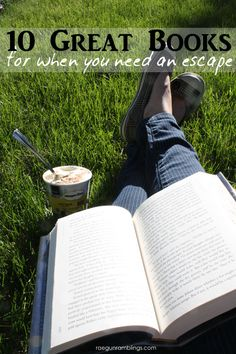 Great list of books! Perfect reading list when you need an escape