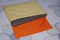 hoes voor de laptop / tablet  zelf naaien