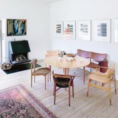 Finn Juhl's living room is so beautiful. What do you think?