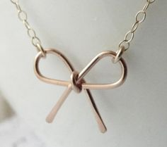 Rose gold gold, or silver bow bracelet (love the silver) a more affordable alternative to Kate Spade's bow jewelry