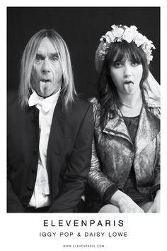 Daisy Lowe & Iggy Pop Star in Eleven Paris Fall 2012 Campaign
