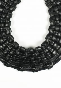 Monies Basket Weave Collar