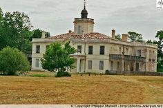 Château du Domaine de Certes, Audenge - Bassin d'Arcachon (France, Aquitaine, Gironde)