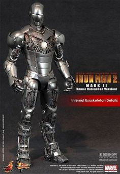 Sideshow Iron Man Mark II Armor Unleashed 6th Scale Figure