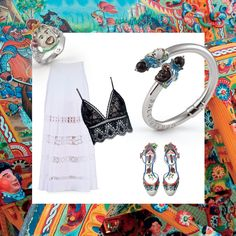 Amante dello stile #Mediterraneo? Lasciati ispirare da #pizzi e #smalticolorati Noi abbiamo scelto i gioielli della linea #Caltagirone, ma se fossi tu a interpretare lo stile mediterraneo, come sceglieresti di completare il tuo outfit?