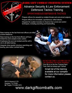 Come and get your Training.. www.darkgiftcombatfs.com