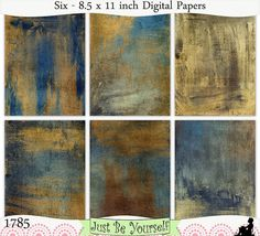 Hey, I found this really awesome Etsy listing at https://www.etsy.com/listing/182826091/instant-download-grungy-blue-and-gold