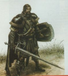 Cool Swordsman | This is a great swordsman! It could be Boromir.