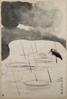 Brett Whiteley - Landscape with bird