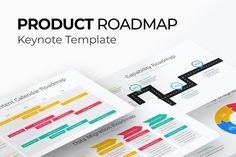 Product Roadmap Keynote Presentation Template is a modern template that you can download and use for any type of Circular presentations, The Template Contains 40 Unique slides designed by professionals that you can easily edit and fill out with your Slide Design, Keynote Template, Presentation Templates, Fill, Type, Unique, Modern, Trendy Tree