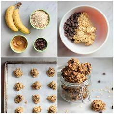 4-ingredient chocolate chip cookies