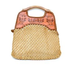 Tooled leather & straw sweetness.