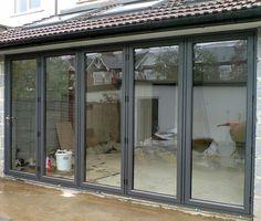 Aluminium External Folding Doors, Folding Sliding Doors, Concertina Doors, Patio Door, Bi-Folding Doors