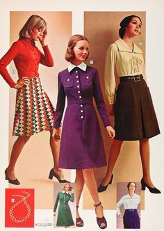 vintage kleider aus den verschiedenen dekaden des 20 jh mode 70er pinterest. Black Bedroom Furniture Sets. Home Design Ideas