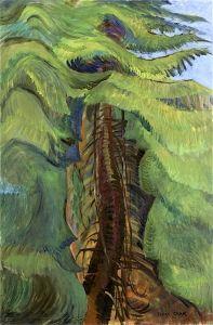 Cedar Sanctuary - Emily Carr - The Athenaeum