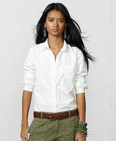 Denim & Supply Ralph Lauren Long-Sleeve Cotton Shirt