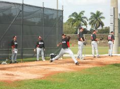 Miami Marlins starting pitcher Jose Fernandez. At the time this picture was taken in February 2013 (spring training), no one had any idea that the Marlins #1 prospect was only 6 weeks away from his spectacular Major League debut.