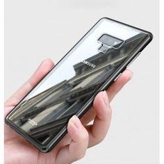 7cae8ecc827 Samsung Galaxy Note 9 Coque avec couvercle arrière en verre trempé mince  antichoc facile à installer